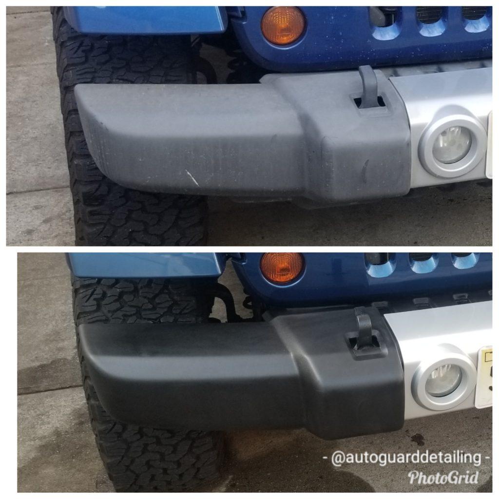 plastic trim restoration