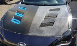 carbon fiber subaru brz