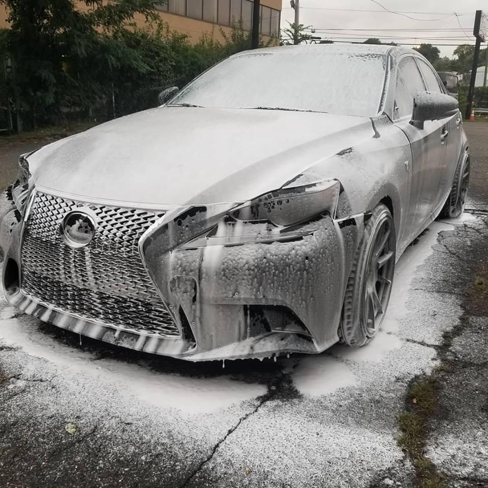 Foam wash