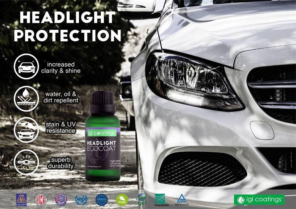 headlight coating